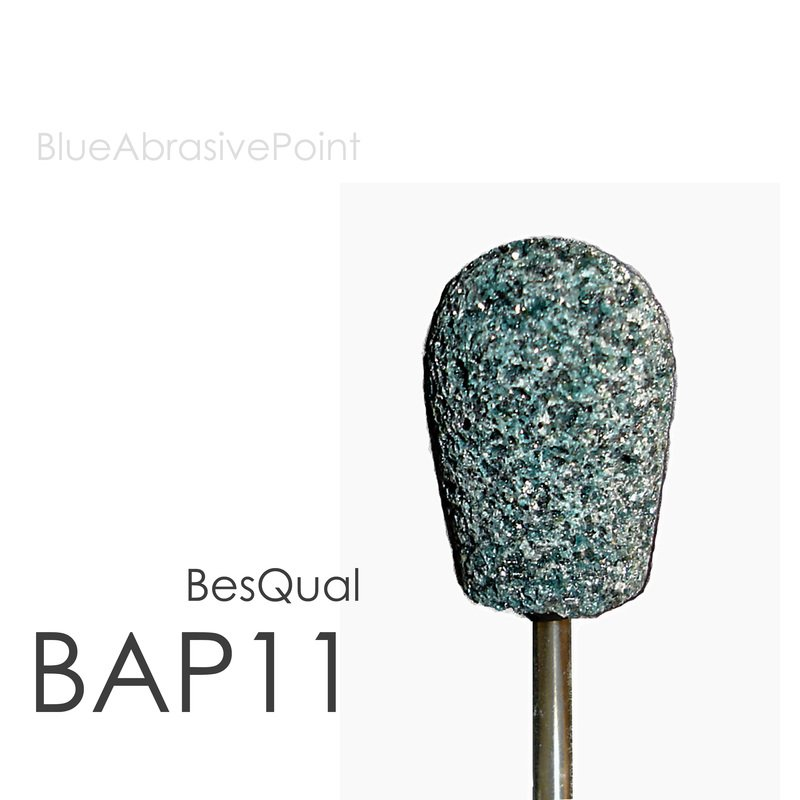 Blue Abrasive Points BAP11 Medium (100pcs)