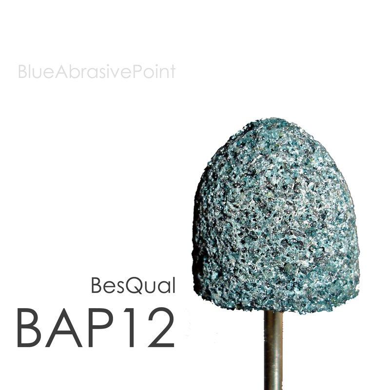 Blue Abrasive Points BAP12 Large (100pcs)