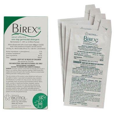 Birex SE Operatory Package 48/Pk. Dual Phenol-based Disinfectant, Kills TB