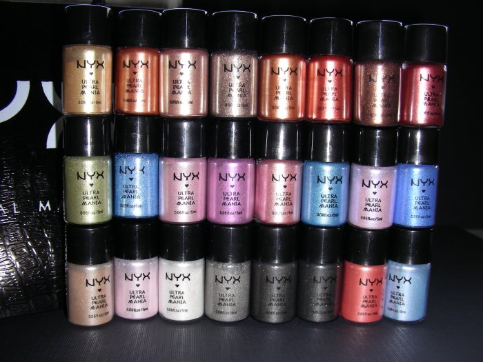 NYX ULTRA PEARL MANIA - LOT OF 4 (YOU CHOOSE THE SHADES)