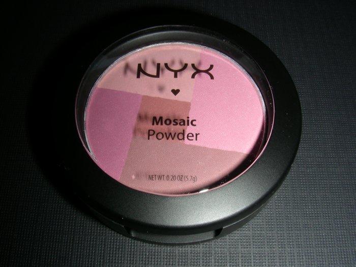 NYX MOSAIC POWDER BLUSH - PLUMMY
