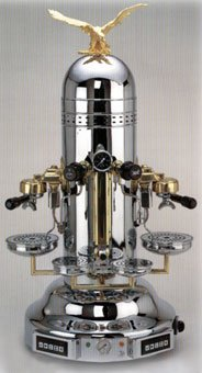 Chrome Dome Vertical Espresso Machine