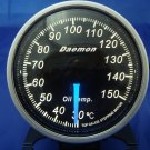 Daemon Professional 60mm Stepper Motor Oil Temperature Gauge