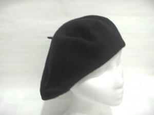 Women Men Black Slouchy Beret Tam Hat Cap Newsboy Beanie Skull