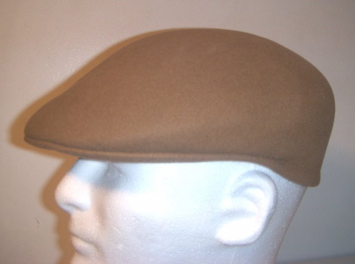 Men Women Camel  Wool Driving Newsboy Golf Ivy Hat Cap Medium