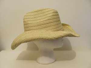 Women Men Natural  Bendable Floppy Cowboy Straw  Sun  Beach Western Hat