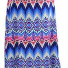 Women Plus Size 1X Long Maxi Skirt Summer Beach Evening Party Wedding Coverup