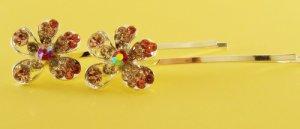 Flower  Blossom  Hairpin  Bobby  Pin