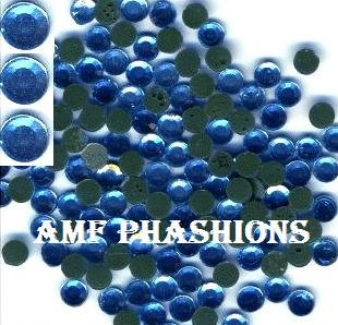 "Sapphire ""Blue"" Rhinestones Hot Fix 6mm/30ss"