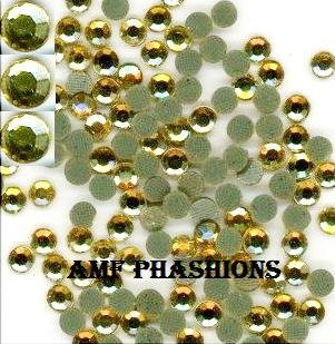Sun Yellow Stone Rhinestones Hot Fix 4mm/16ss