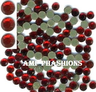 Siam (Red) Rhinestones Hot Fix 5mm/20ss