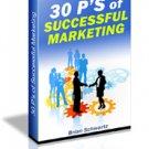 The 30 P's of Successful Marketing eBook