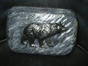 Brick Bear Stone