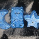 Moon Bear And Star Plaques