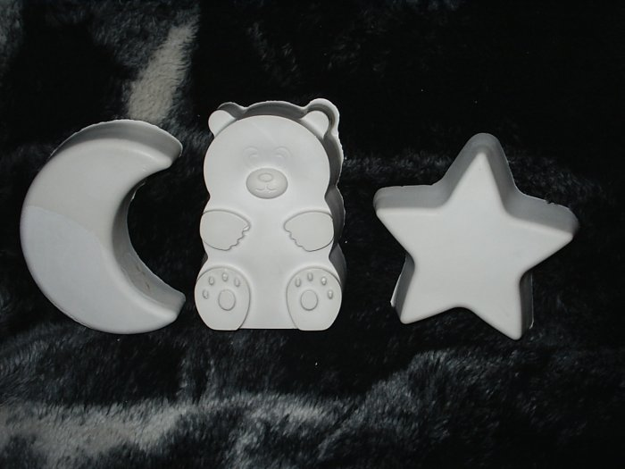 Moon ,Bear, And Star Plaques