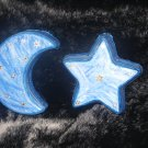 moon and star plaques