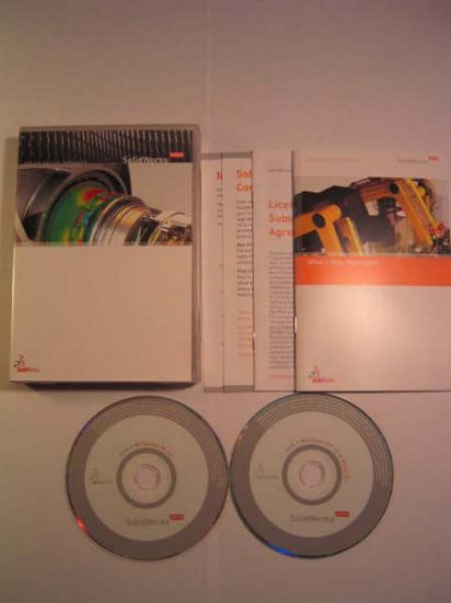 Solid Works 2008 Upgrade DVD for Vista 32BITS and 64BITS Commercial Solidworks Version