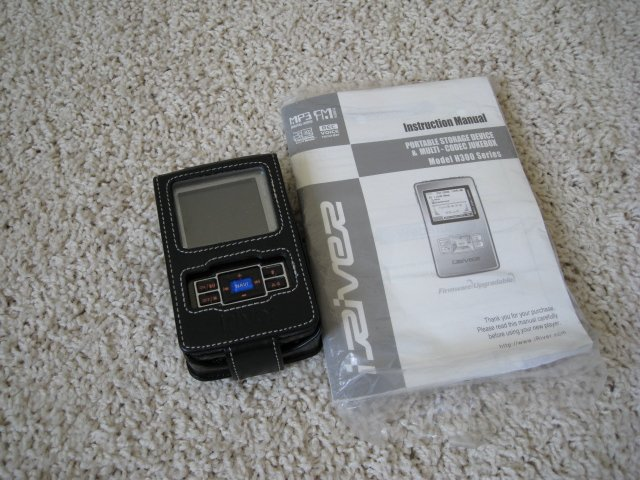 Iriver H340 MP3 Video Player 40GB