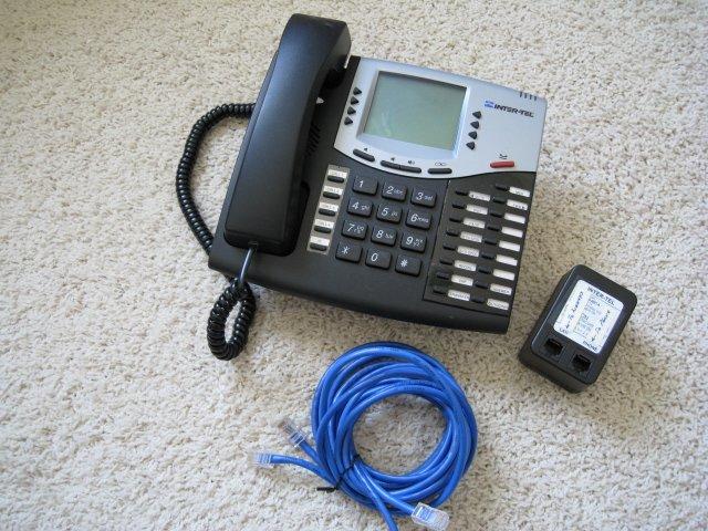 Inter-Tel Model 8662 IP Phone VOIP