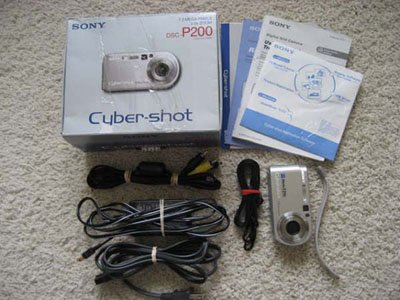 Sony Cybershot P200 7.2MP Digital Camera