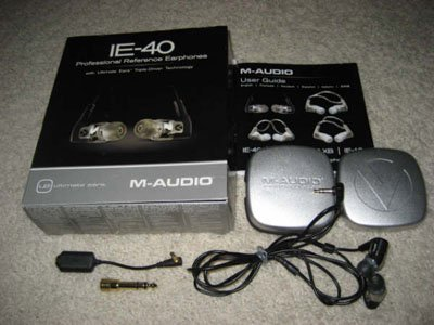 M-Audio IE-40 In-Ear Pro Stage for Ipod Iphone Sony Mp3