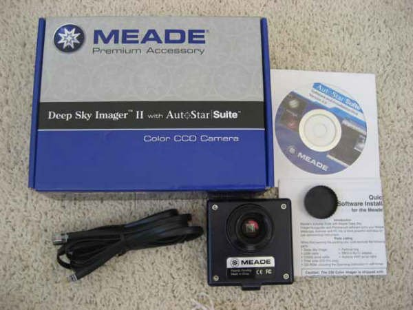Meade Deep Sky Imager II Color CCD Telescope with Software