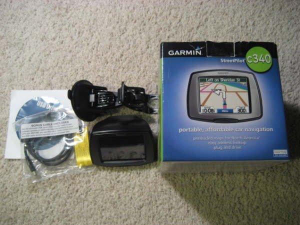 Garmin Streetpilot C340 GPS Portable Vehicle Navigation System