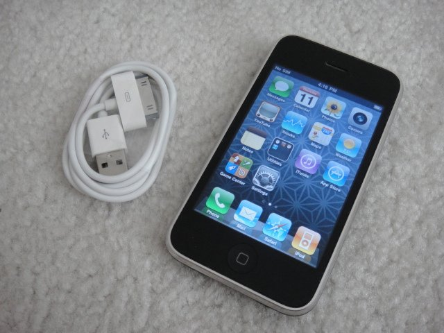 Apple Iphone 3Gs 32GB Black Firmware 4.3.3 Jailbreak and Unlocked Sim Card ready