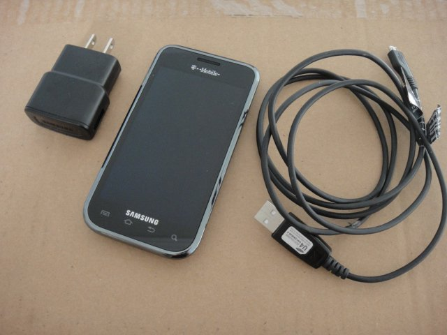 T-Mobile Samsung Vibrant Galaxy S 3G GSM Android AmoLED Display Wifi BT Video AF Flash