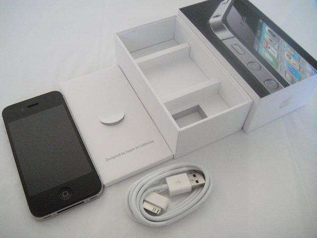 Verizon Iphone 4 16GB Black CDMA Retina Display iOs Wifi GPS S/N C39F4XHSDDP7