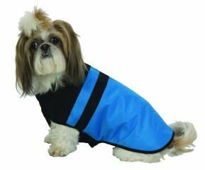Medium Dog Snow Board Ski Jacket - Blue