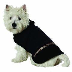 Small Dog Eskimo Shearling Coat - Black