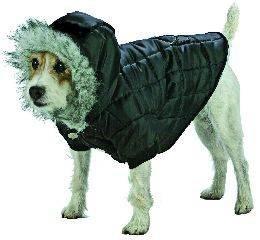 X Large Dog Everest Snow Parka - Black