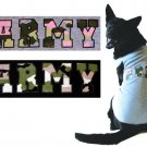 Medium Dog Army Tank - Black/Khaki