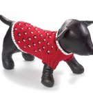 Large Dog Professor Sweater - Red