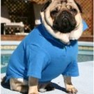 Large Dog Polo Shirt - Royal Blue