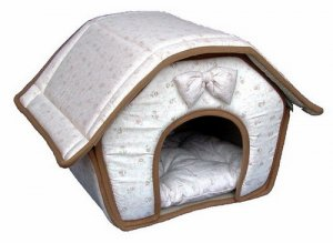 Small Breed Dog House - Beige