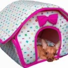 Small Breed Soft Dog House - Pink