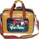 Small Poker Dog Vintage Americana Dog Carrier