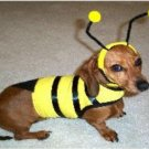 XX Small Bumble Bee Dog Costume