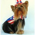 Medium Uncle Sam Dog Costume