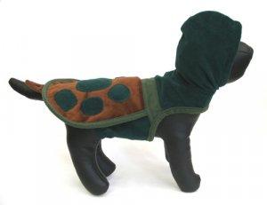 X Small Turtle Hoodie Dog Costume