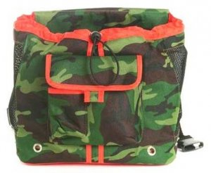 Camouflage Front Dog Pouch Carrier
