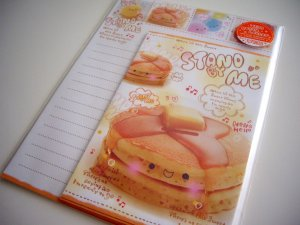 kawaii Q-lia stand by me letter set