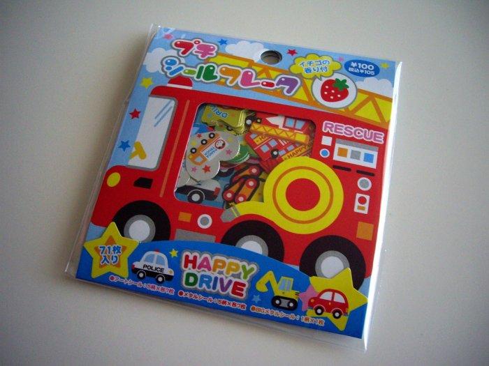 Kamio happy drive sticker sack