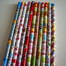 kawaii pencil lot, various brands