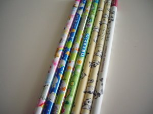 kawaii San-x wooden pencil lot