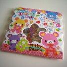 kawaii Pool Cool milky bear sticker sack