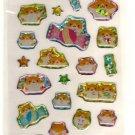 kawaii Crux hamu candy sticker sheet