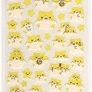 kawaii eating hamsters sticker sheet